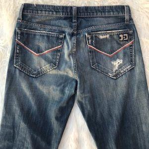 Joe's Jeans The Rocker Distressed Jeans, Size 31